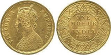 Gold Coins of British Imperial India