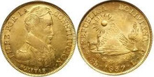 Gold Coins of Bolivia
