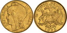 Gold Coins of Chile