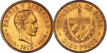 Gold Coins of Cuba