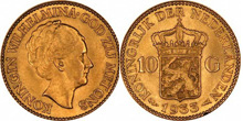 Gold Coins of Netherlands