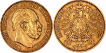 Gold Coins Imperial Germany