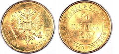 Gold Coins of Finland