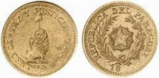Gold Coins of Paraguay
