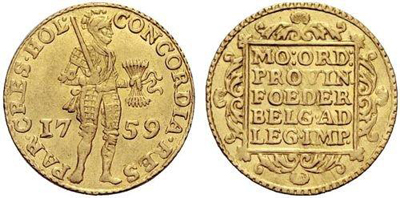 Dutch Gold Ducat