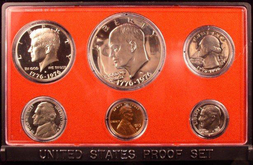 19    1975 proof set