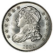 Capped Bust Dime Small